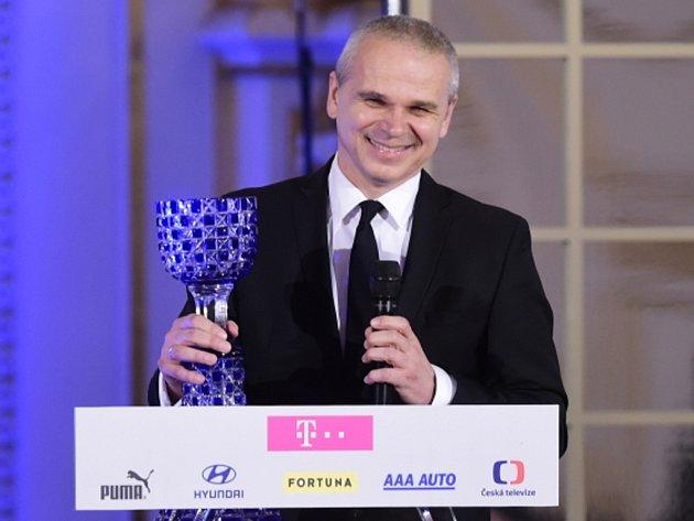 Vítězslav Lavička scenou pro Trenér roku.