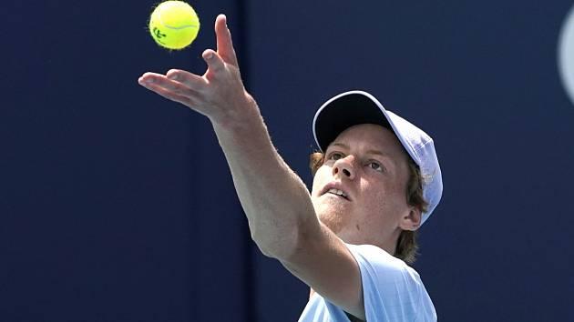 Jannik Sinner, italský tenisový objev