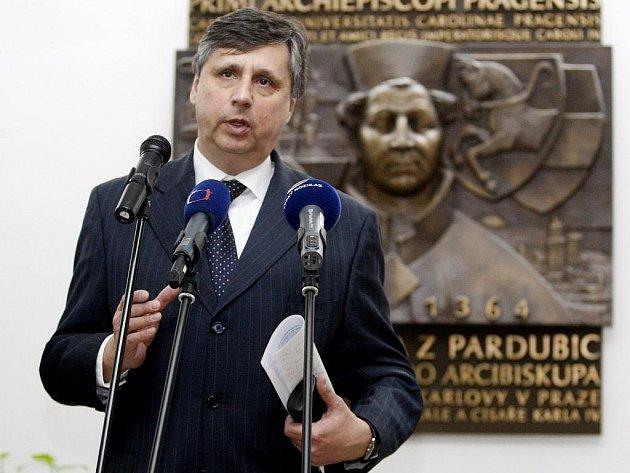 Český premiér Jan Fischer