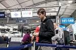Čeští biatlonisté odletěli 25. ledna z Prahy na soustředění do Turecka před zimní olympiádou v Jižní Koreji. Jaroslav Soukup