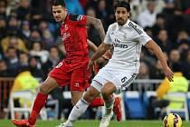 Real Madrid - Sevilla: Sami Khedira a Victor Vitolo