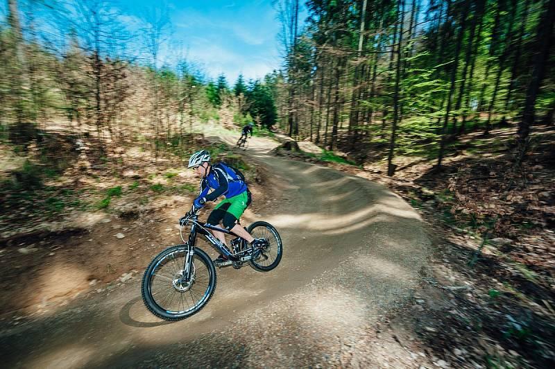 single trail v okolí Jedovnic