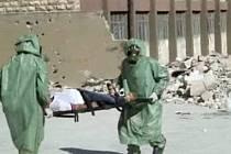 V Sýrii byly použity chemické zbraně. Ilustrační foto.