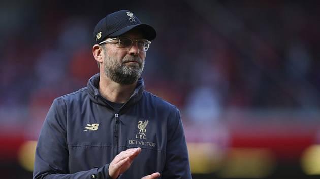 Trenér fotbalistů Liverpoolu Jürgen Klopp.