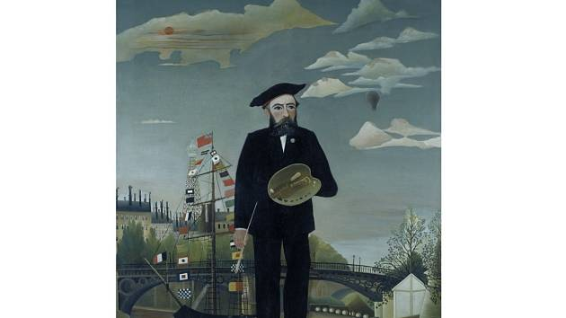 K výstavě Henri Rousseau (Celník, olej, 1890) chystané na září 2016 v Paláci Kinských.