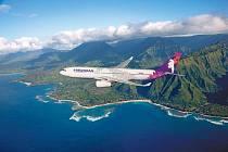 Airbus A330 společnosti Hawaiian Airlines - ilustrační foto