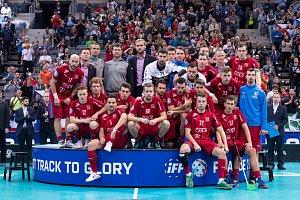 Čeští florbalisté v duelu o bronz proti Švýcarsku