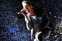 V neděli hráli v Praze Coldplay.