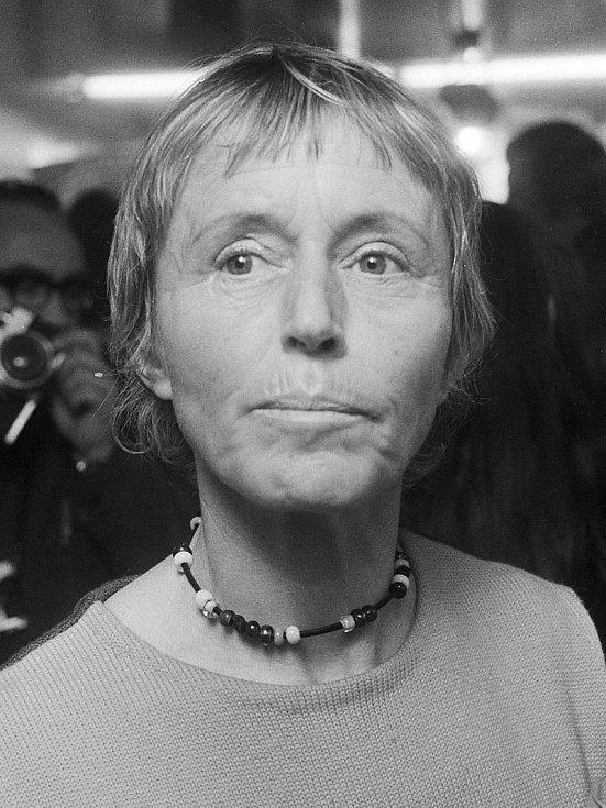 Zakladatelka prvního sex shopu na světě, Němka Beate Uhse v roce 1971.