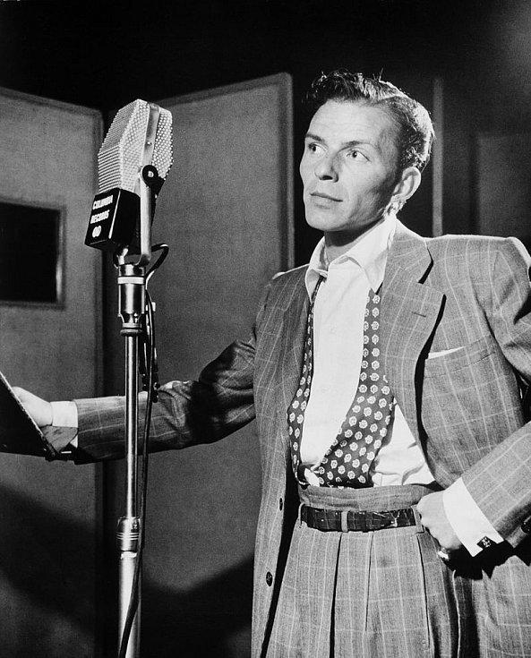 Frank Sinatra v New Yorku v roce 1947