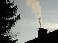 Kouřící komín