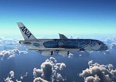 A380 pro japonské aerolinky All Nippon Airways (ANA).