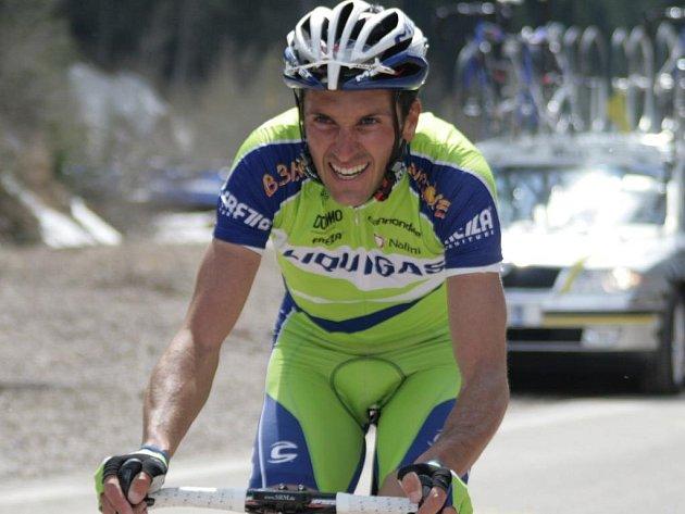 Ivan Basso si v závodě Kolem Trentina dojel pro celkové prvenství.