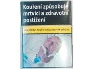 cigarety s varovným označením