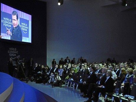 Fórum v Davosu. Ilustrační foto
