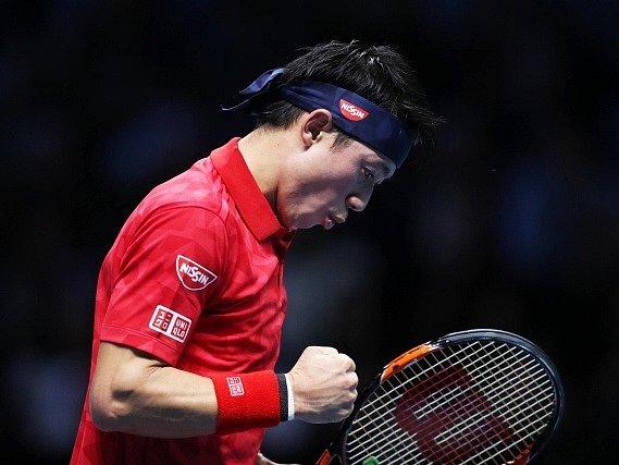 Japonec Kei Nišikori vstoupil do Turnaje mistrů hladkou výhrou.