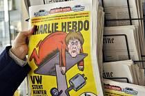 Francouzský satirický týdeník Charlie Hebdo dnes vyšel poprvé i v zahraničí, a to v Německu.