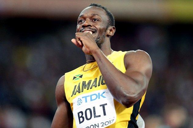 Usain Bolt měl na MS v Londýně radost i z bronzu.