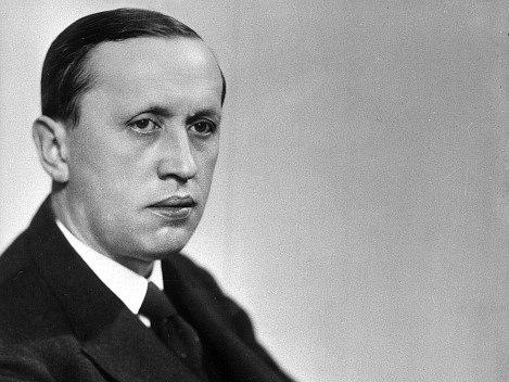 Karel Čapek, spisovatel (1890-1938).