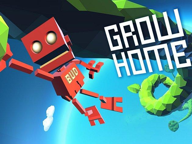 Počítačová hra Grow Home.