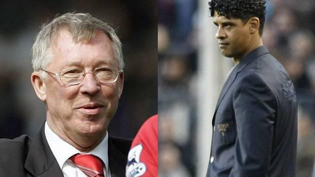 Přechytračí toho druhého? Trenér Manchesteru Alex Ferguson (vlevo) a trenér Barcelony Frank Rijkaard.