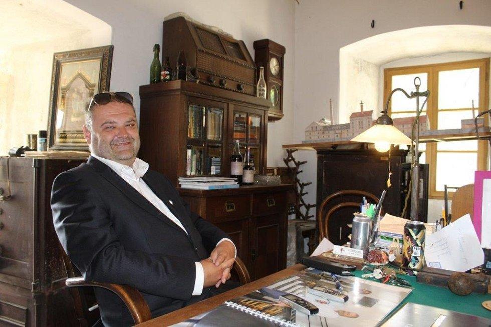 Majitel pivovaru Marek Vávra