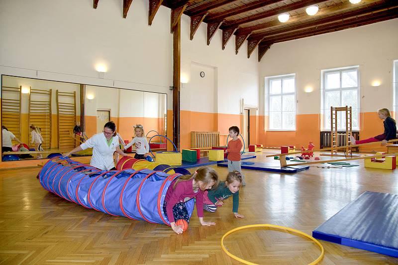 Olivova dětská léčebna v Říčanech u Prahy
