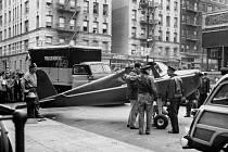 """Cessna opilého pilota Thomase Fitzpatricka po """"zaparkování"""" na newyorské ulici"""