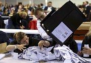 Sčítání hlasů ve Velké Británii