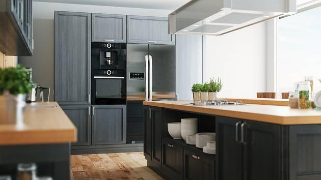 Při zařizování kuchyně hraje podstatnou roli rozmístění pracovních zón.