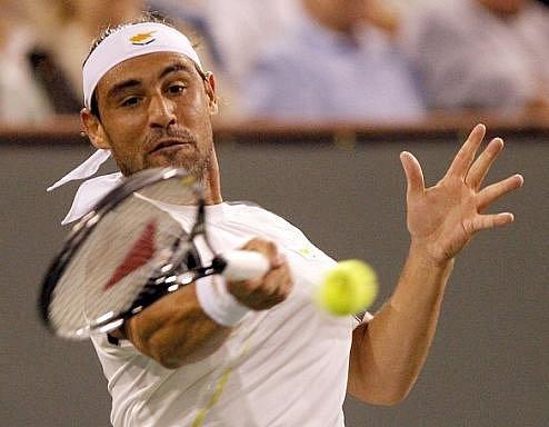 Marcos Baghdatis porazil v Indian Wells Rogera Federera.