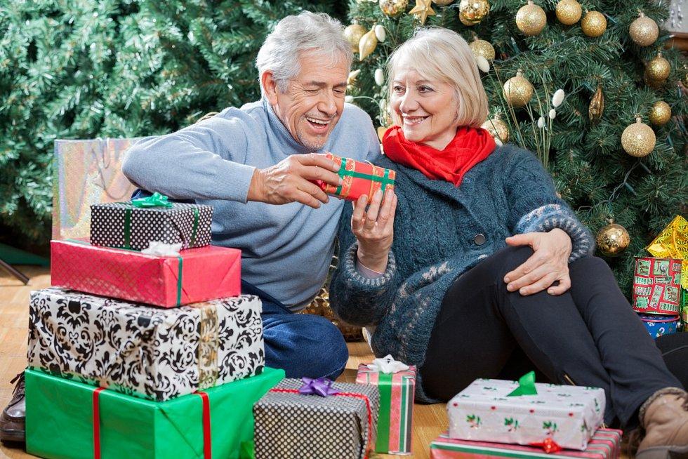 Oslava Vánoc v rodinném kruhu