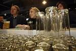Eurovolby Praha volební štáb Strana zelených Martin Bursík Kateřina Jacques v restauraci Vozovna ve Stromovce