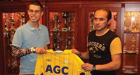 Martin Kovařík (vlevo).