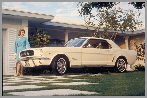 Ford Mustang (1964).