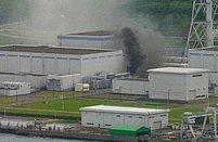 Po včerejším zemětřesení vypukl v jaderné elektrárně Kašiwazaki-Kariwa požár (na snímku)