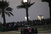 Fernando Alonso při Velké ceně v Abú Zabí