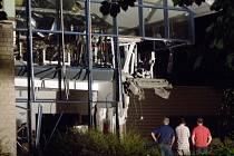 Výbuch poničil sportovní centrum v Belgii, zemřel jeden člověk