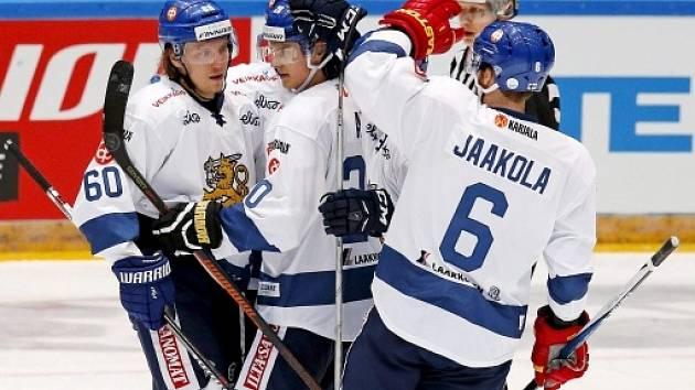 Radost finských hokejistů