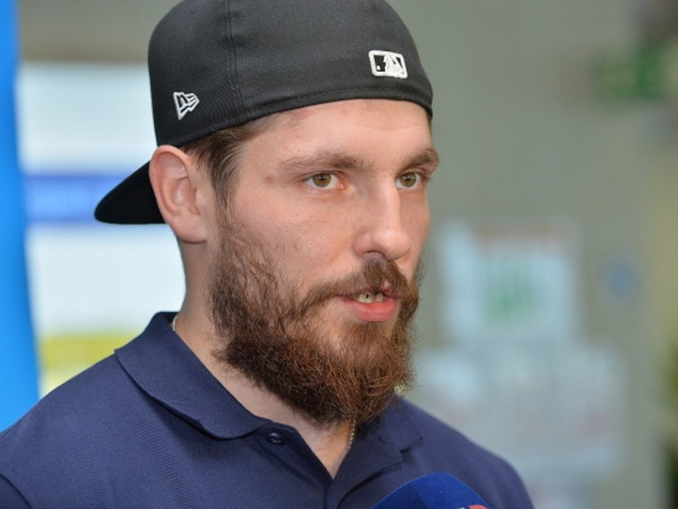 Hokejový reprezentant Michal Kempný.