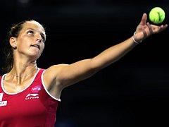 Karolína Plíšková na turnaji v Tokiu.