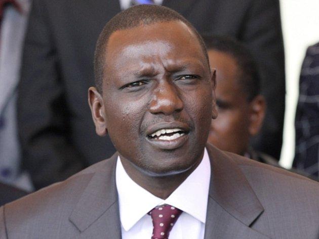 Keňský viceprezident William Ruto.