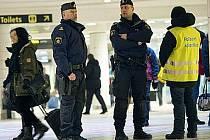 Švédská policie - ilustrační foto.