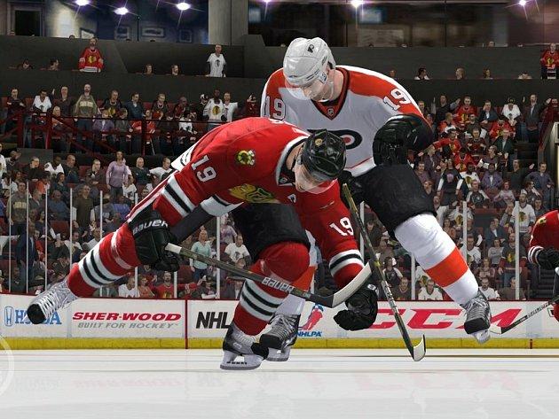 Počítačová hra NHL 13.