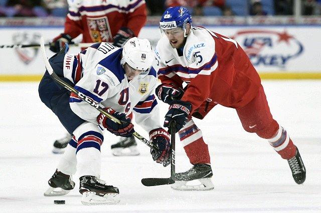 V duelu bronz prohráli mladí Češi s domácími Američany vysoko 3:9.