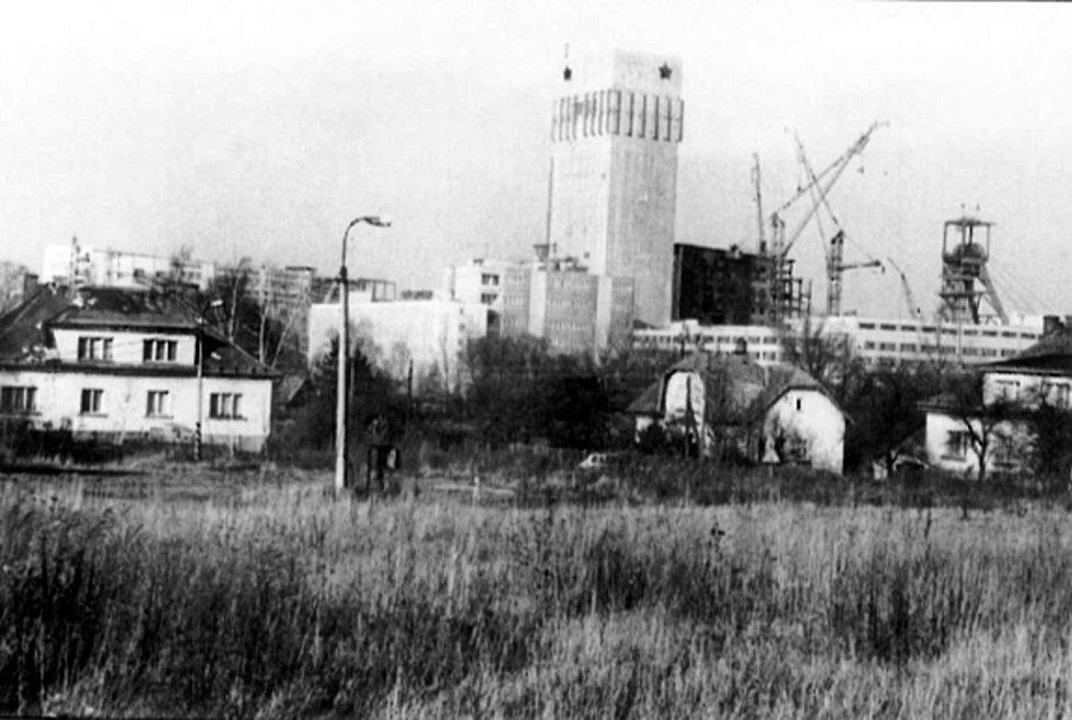 Důl Darkov, 80. léta.