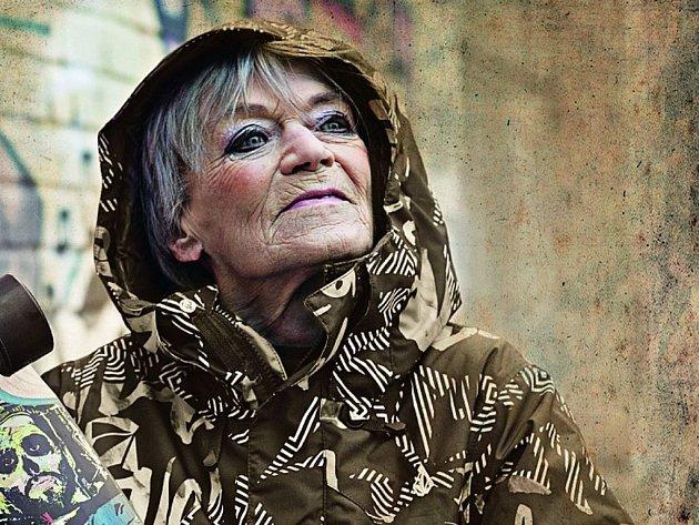 Takhle úžasně paní Lubu nafotila Alena Hrbková.