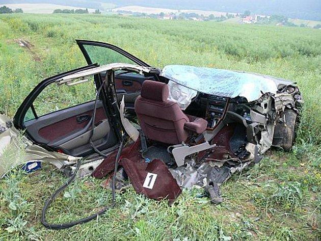 Tragická nehoda u Jasenice