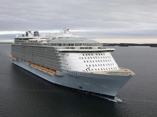 Oasis, největší výletní loď světa.