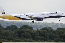 Krach aerolinek Monarch